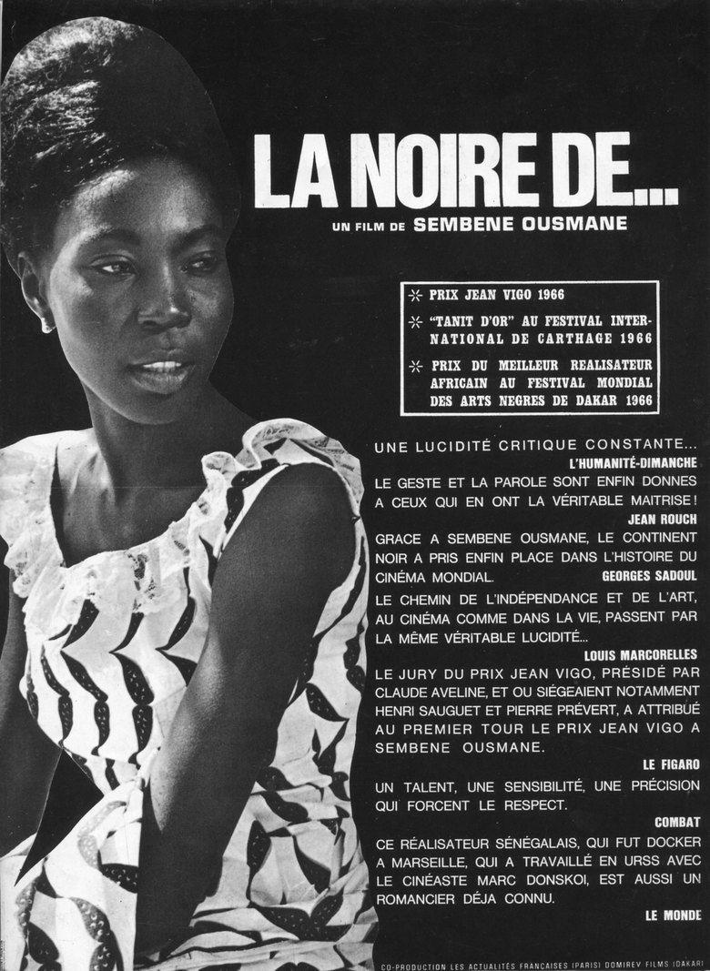 Black Girl (film) movie poster
