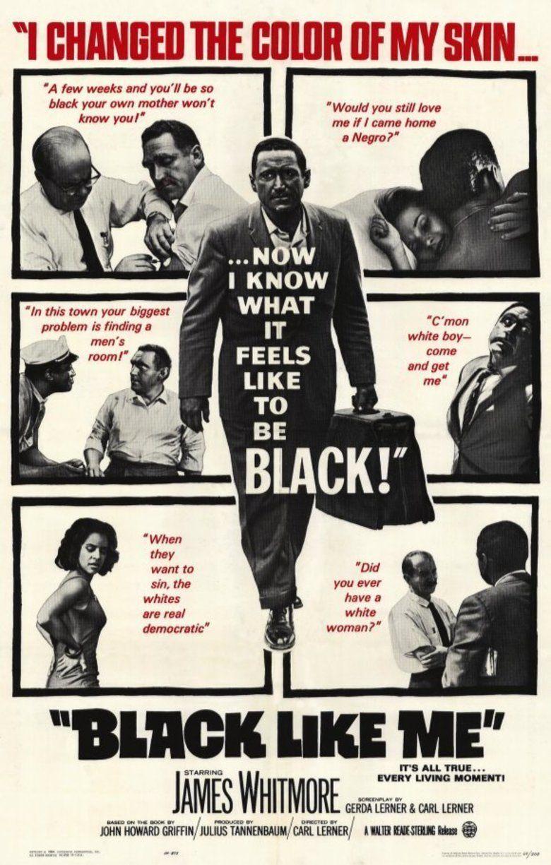 Black Like Me (film) movie poster