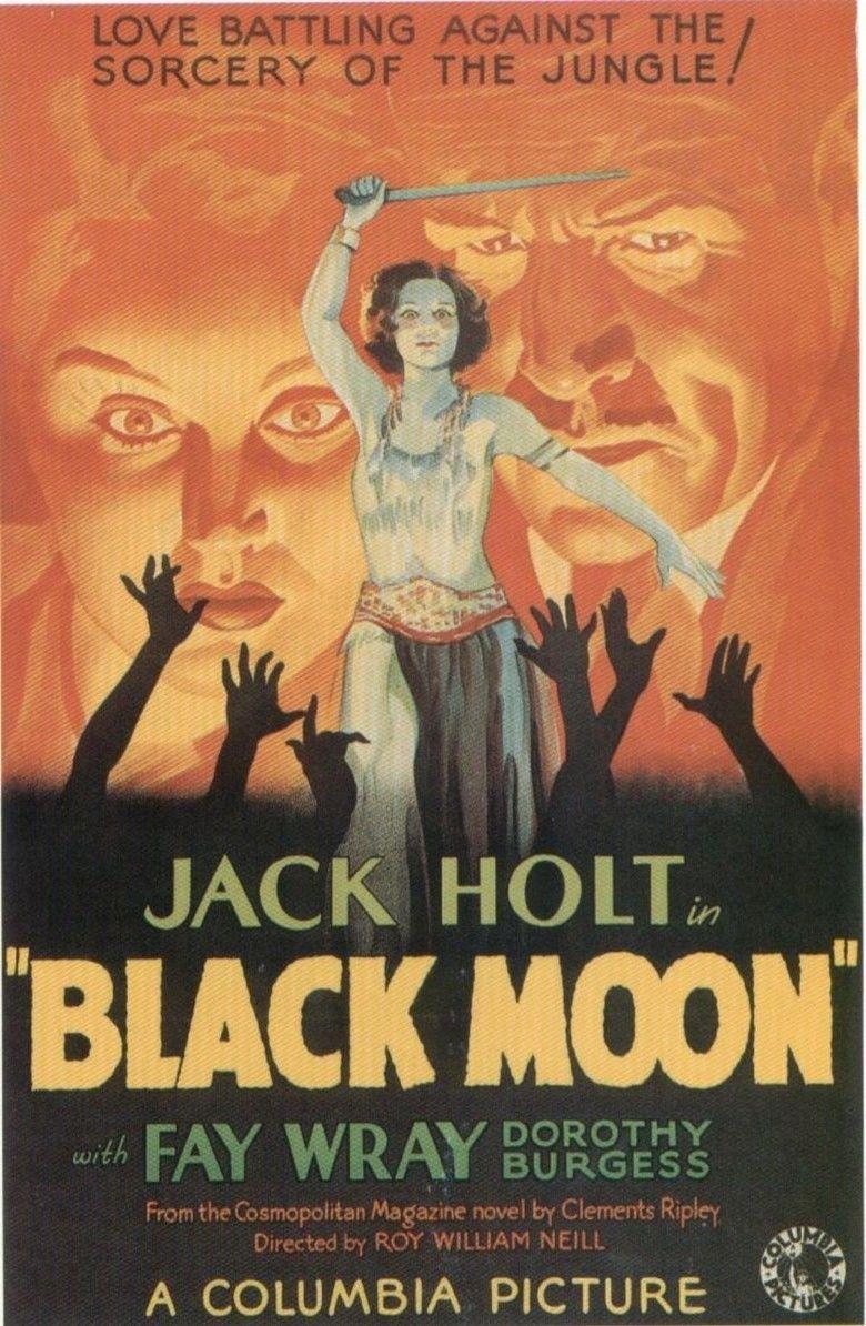 Black Moon (1934 film) movie poster