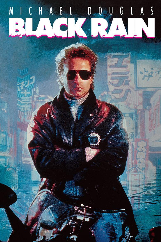 Black Rain (1989 American film) movie poster