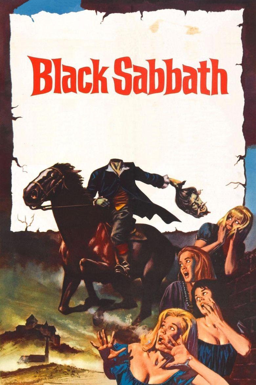 Black Sabbath (film) movie poster
