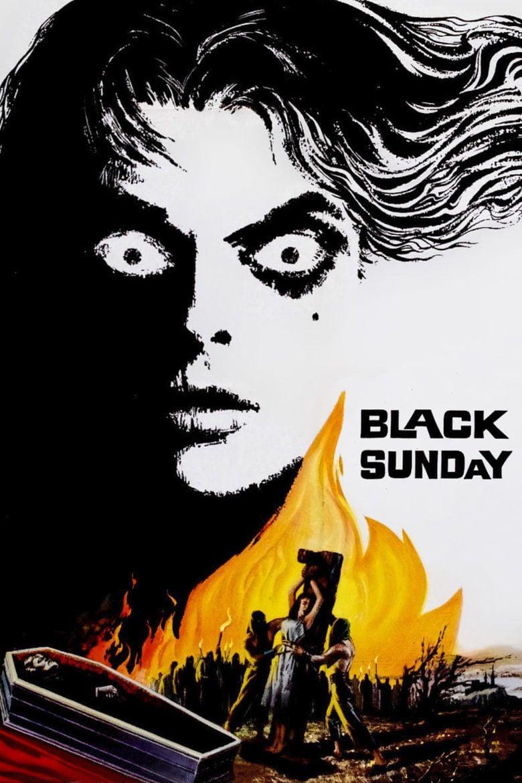 Black Sunday (1960 film) movie poster
