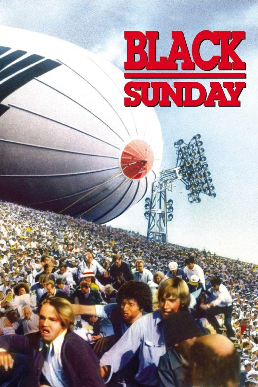 Black Sunday (1977 film) movie poster