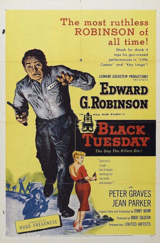 Black Tuesday (film) movie poster
