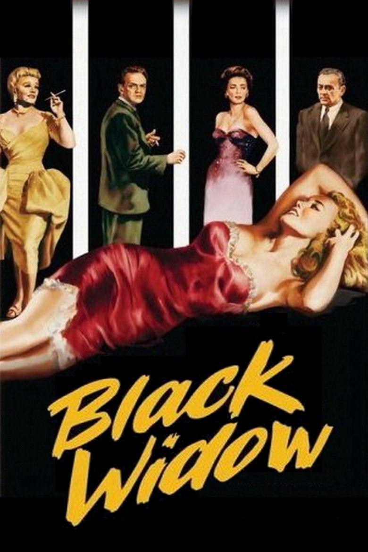 Black Widow (1954 film) movie poster