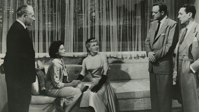 Black Widow (1954 film) movie scenes