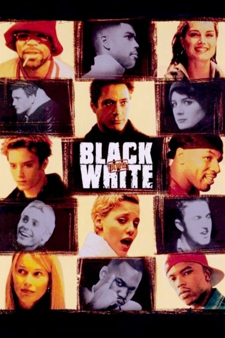 Black and White (1999 TV film) movie poster