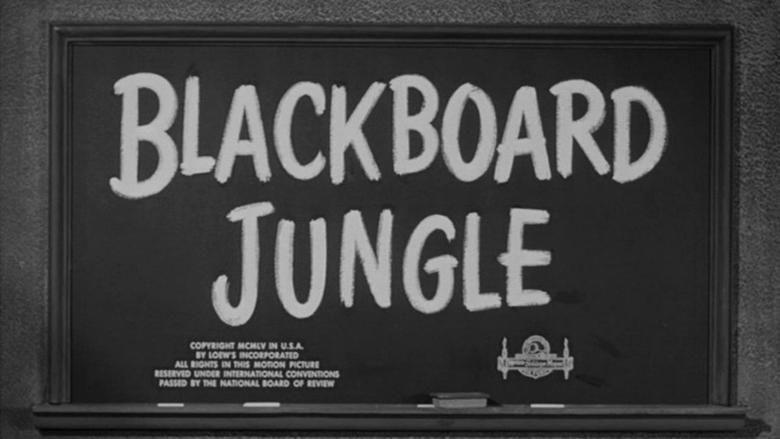 Blackboard Jungle movie scenes