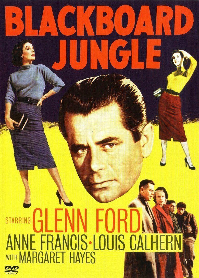 Blackboard Jungle movie poster