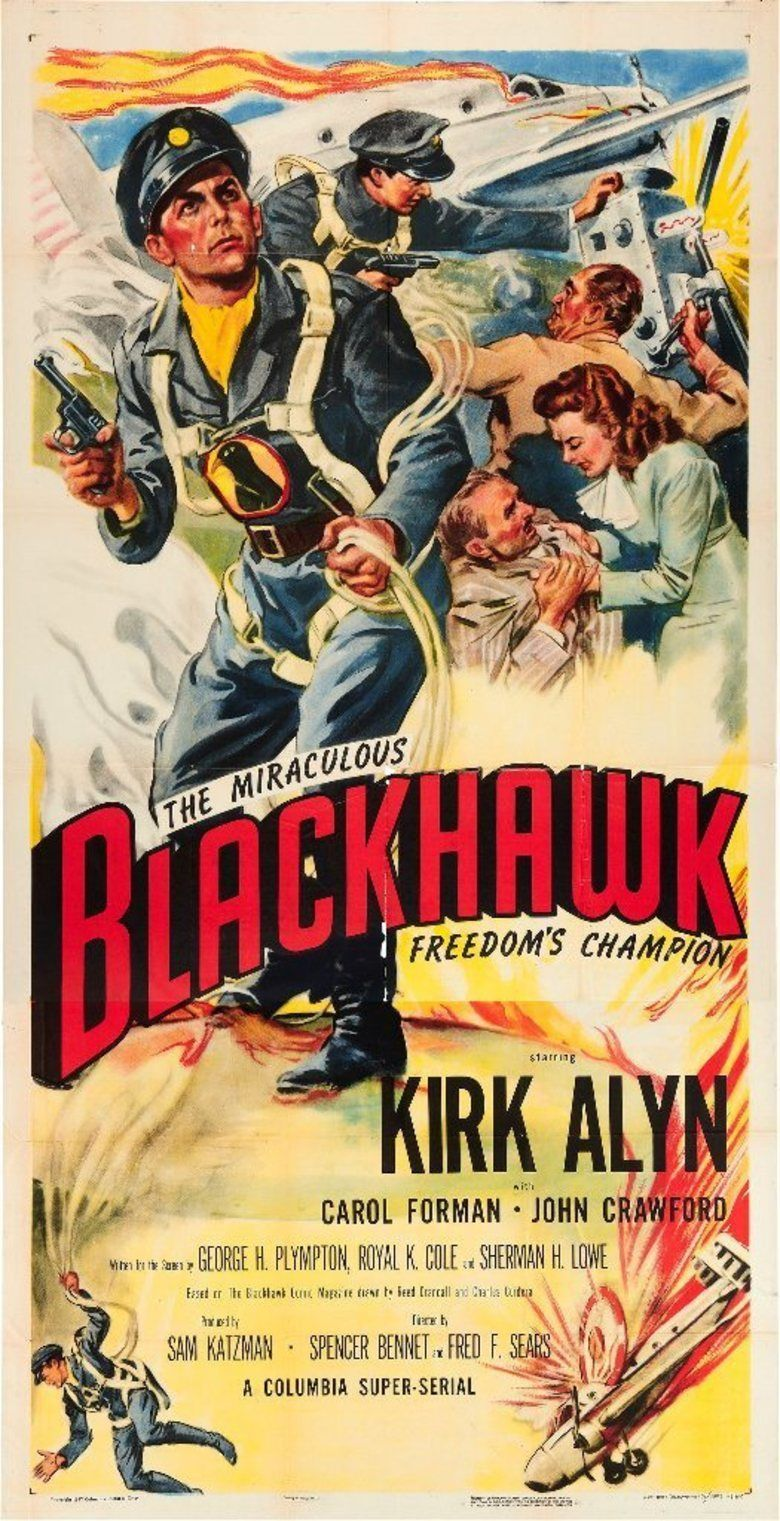 Blackhawk (serial) movie poster