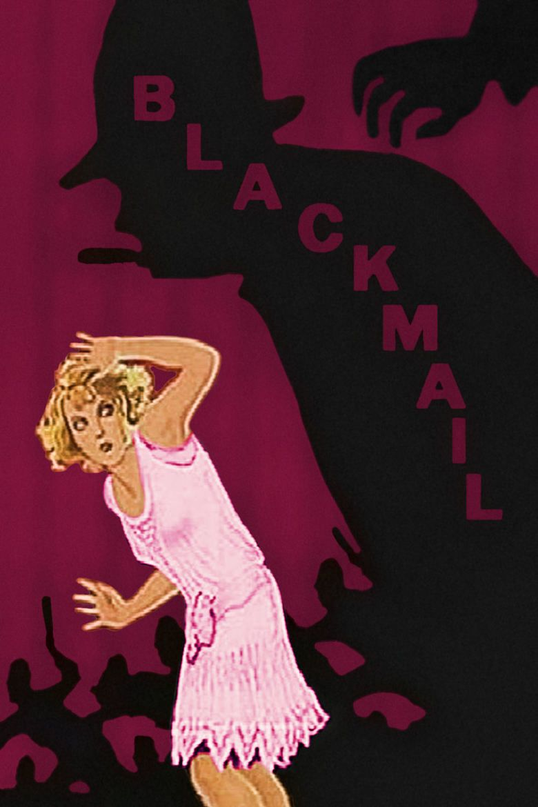 Blackmail (1929 film) movie poster