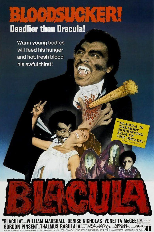 Blacula movie poster