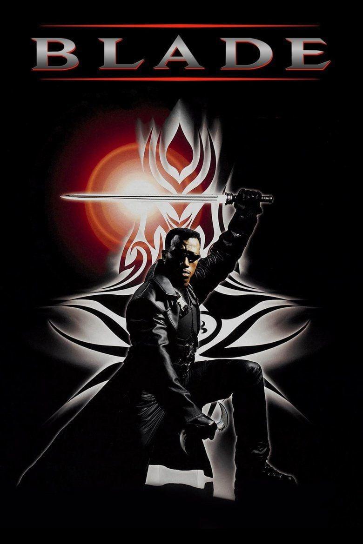 Blade (film) movie poster