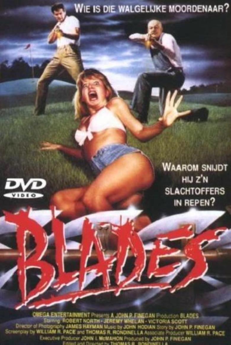 Blades (film) movie poster