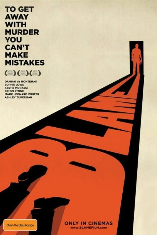 Blame (film) movie poster