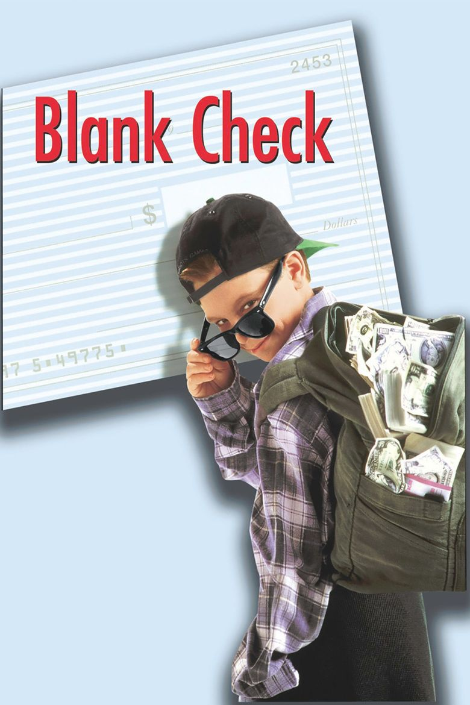 Blank Check (film) movie poster