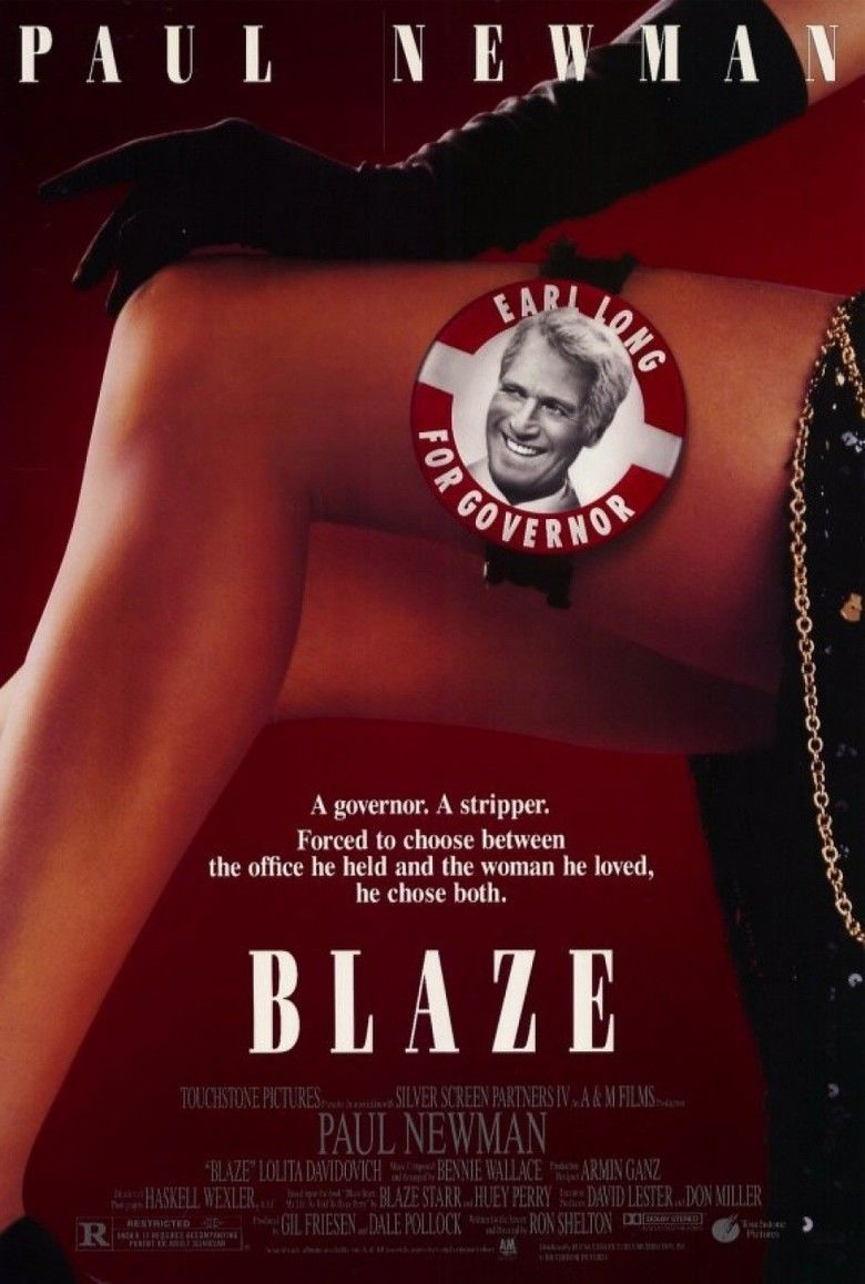 Blaze (film) movie poster