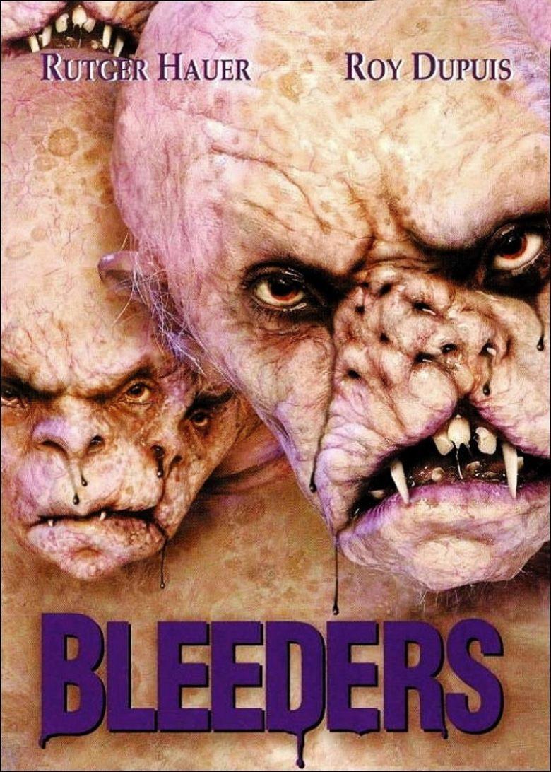 Bleeders (film) movie poster