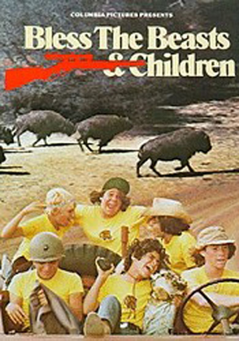 Bless the Beasts and Children (film) movie poster