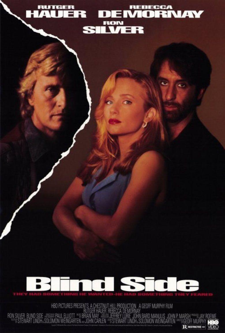Blind Side (1993 film) movie poster