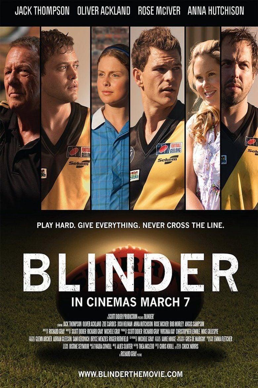 Blinder (film) movie poster