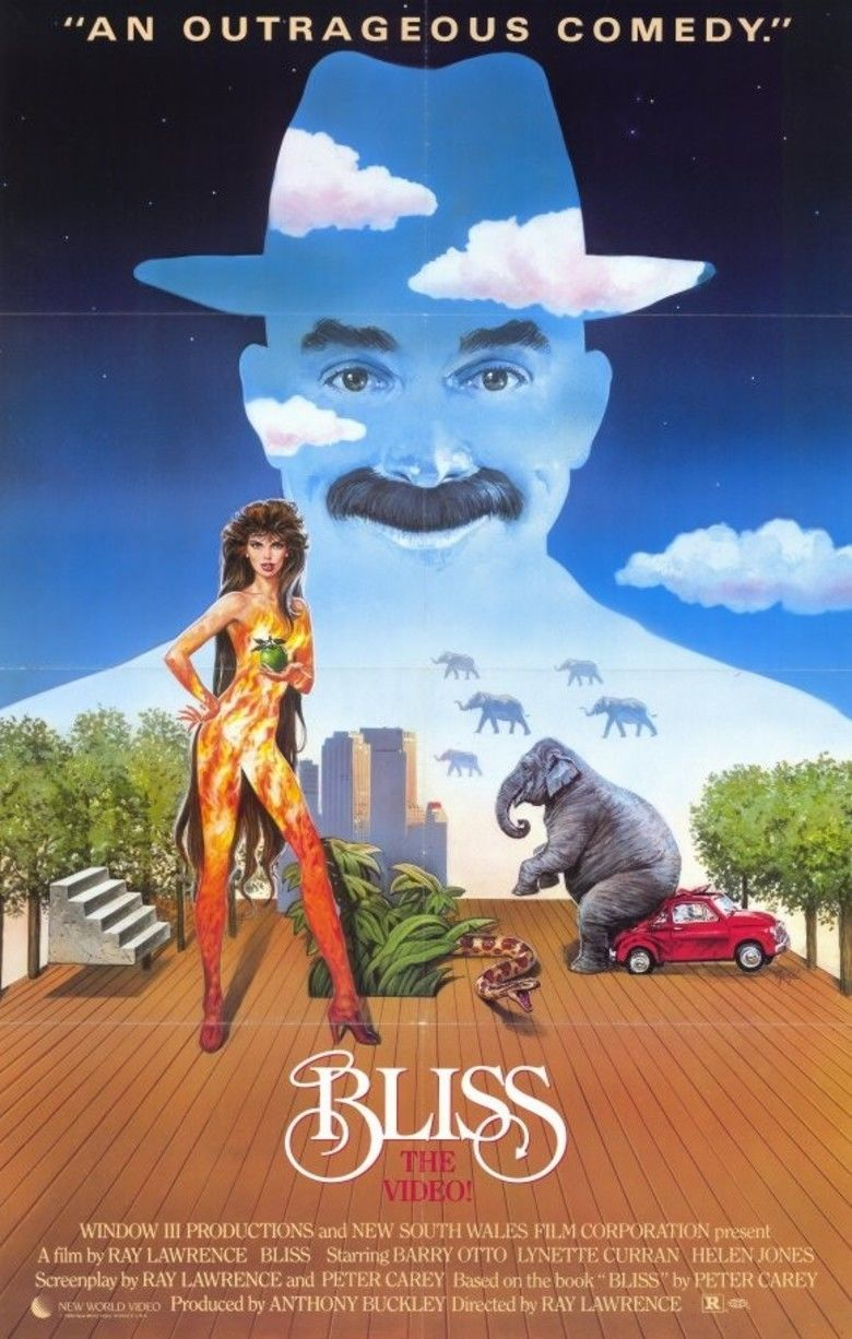 Bliss (1985 film) movie poster