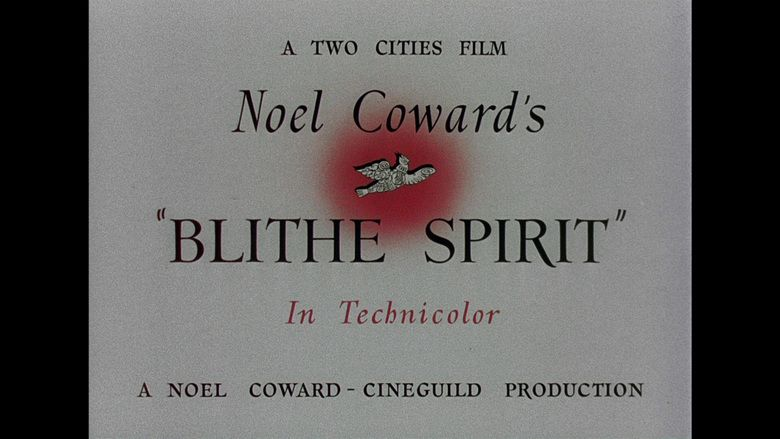 Blithe Spirit (film) movie scenes