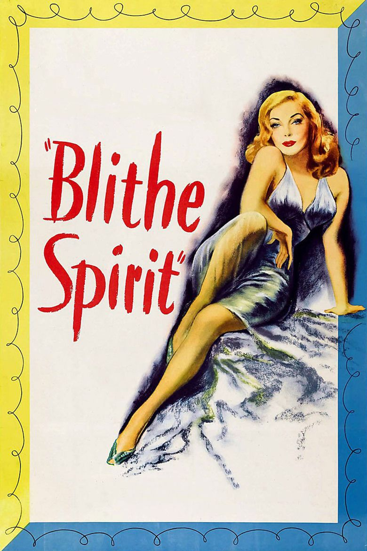 Blithe Spirit (film) movie poster