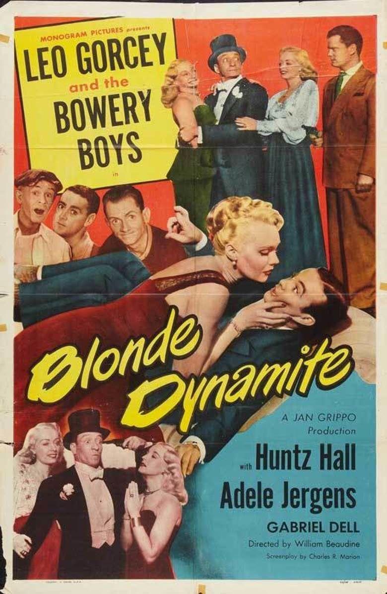Blonde Dynamite movie poster