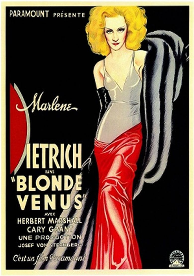 Blonde Venus movie poster