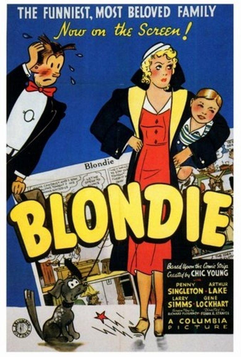 Blondie (1938 film) movie poster