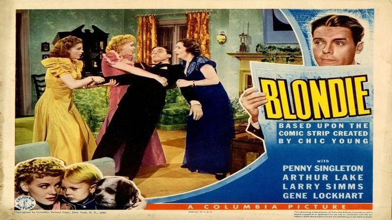 Blondie (1938 film) movie scenes