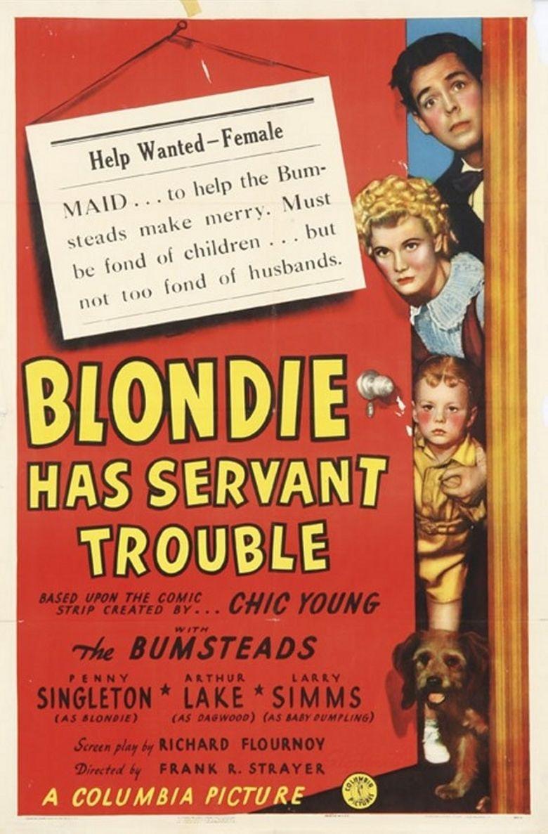 Blondie Has Servant Trouble movie poster