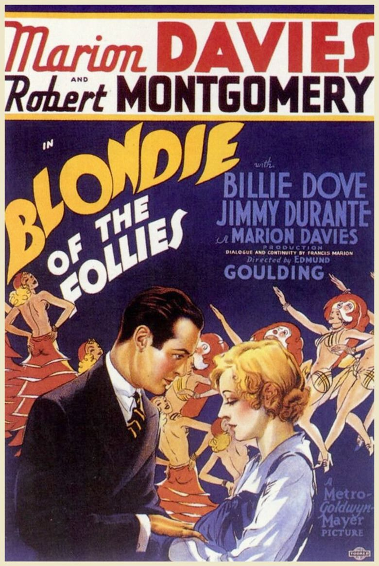 Blondie of the Follies movie poster