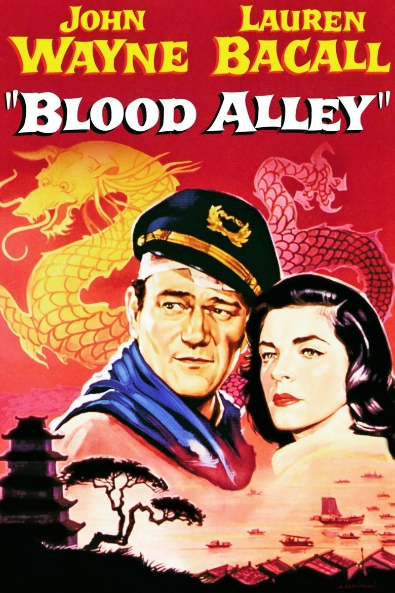 Blood Alley movie poster