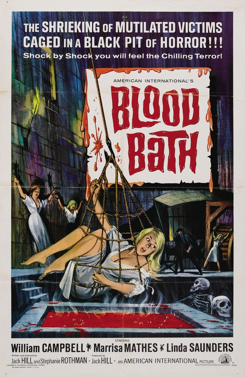 Blood Bath movie poster