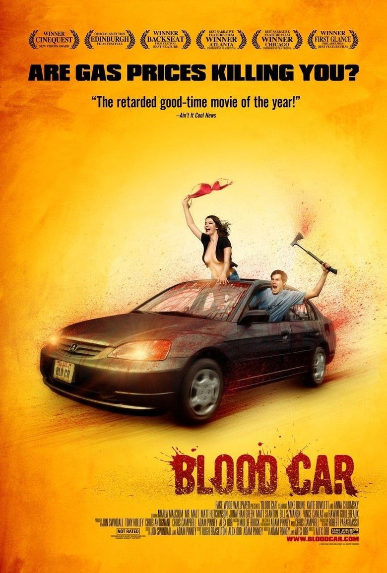 Blood Car movie poster