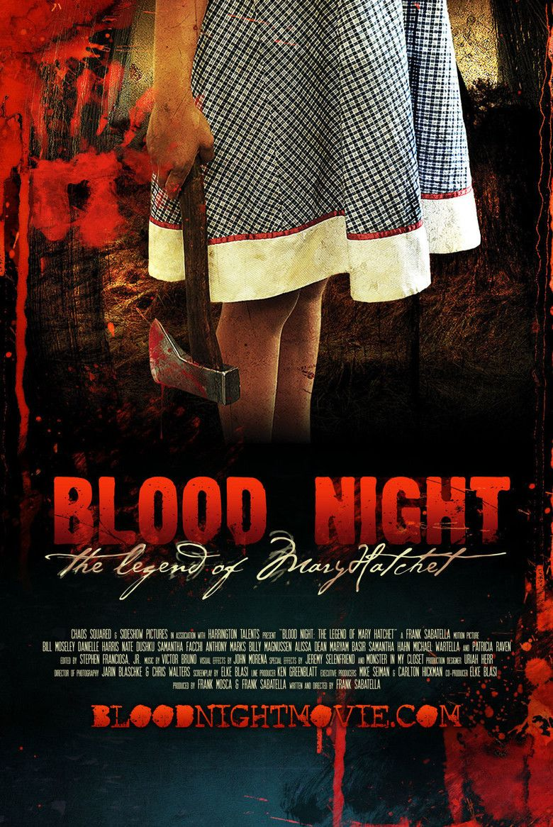 Blood Night: The Legend of Mary Hatchet movie poster