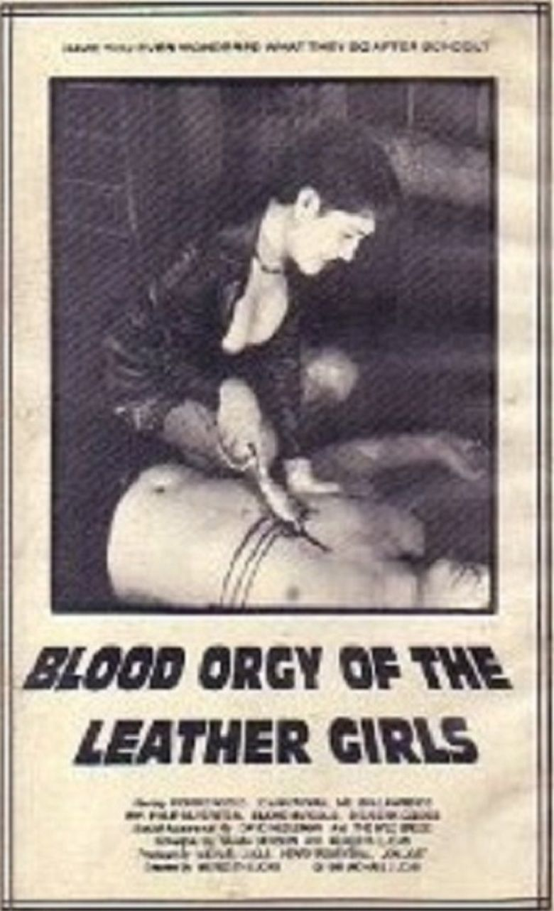 Blood Orgy of the Leather Girls movie poster