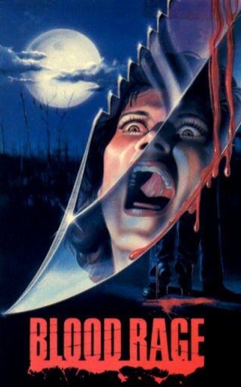 Blood Rage movie poster