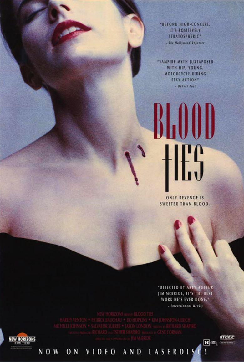 Blood Ties (1991 film) movie poster