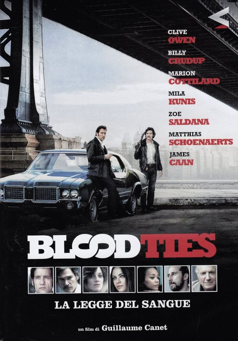 Blood Ties (2013 film) movie poster