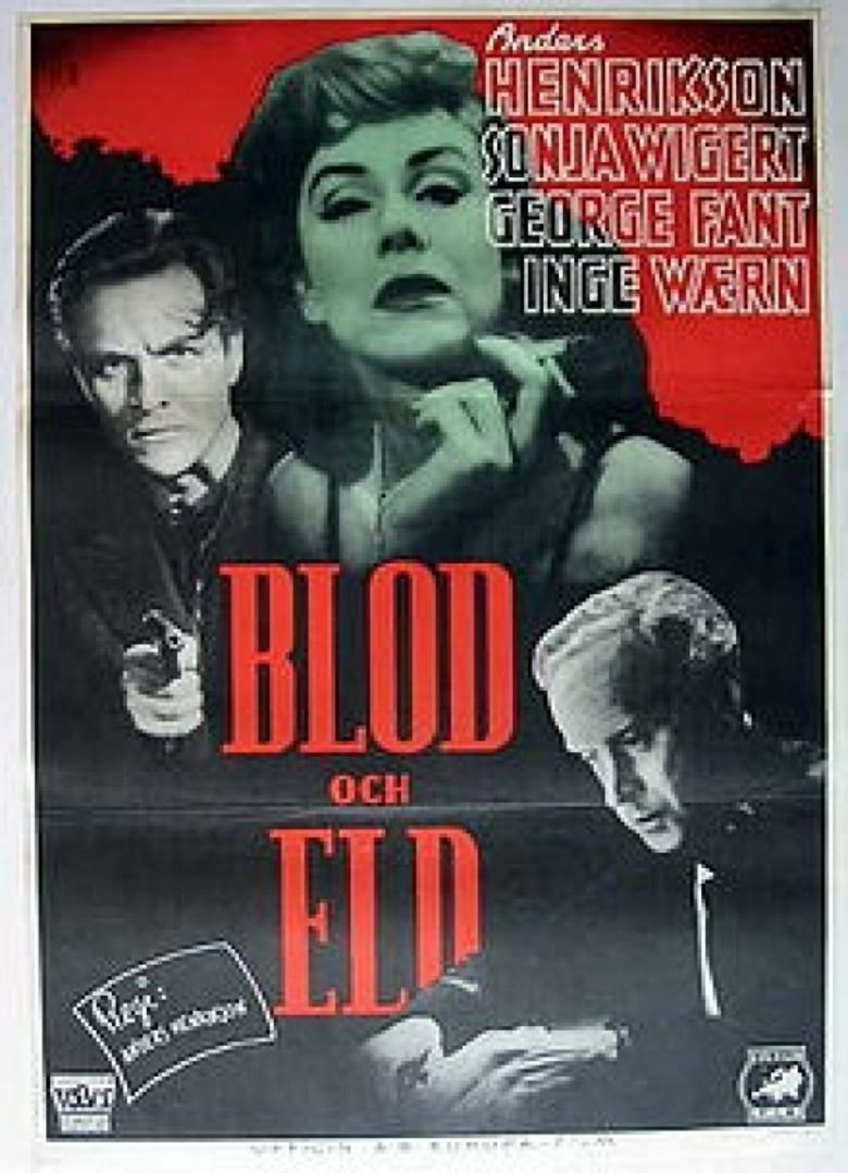 Blood and Fire (film) movie poster