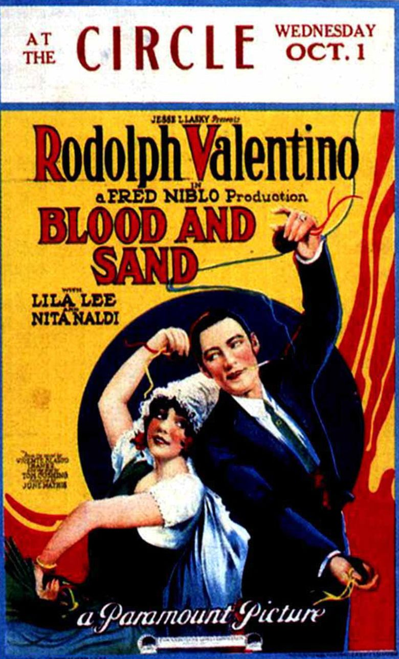 Blood and Sand (1922 film) movie poster