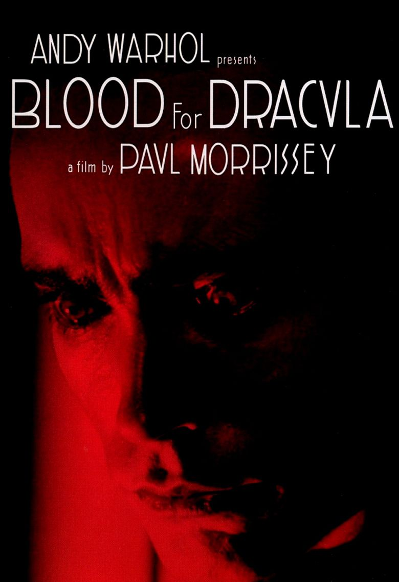 Blood for Dracula movie poster
