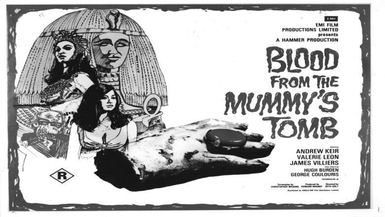 Blood from the Mummys Tomb movie scenes