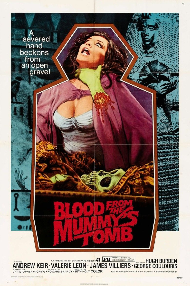 Blood from the Mummys Tomb movie poster
