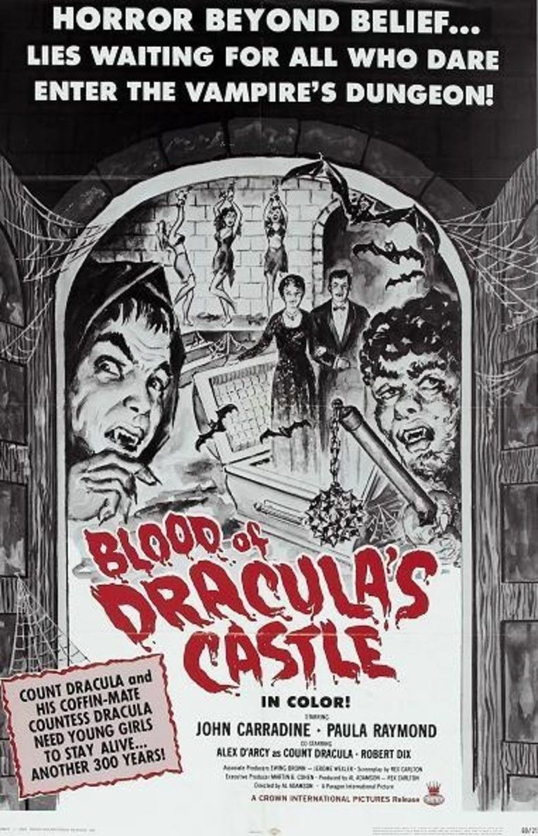 Blood of Draculas Castle movie poster