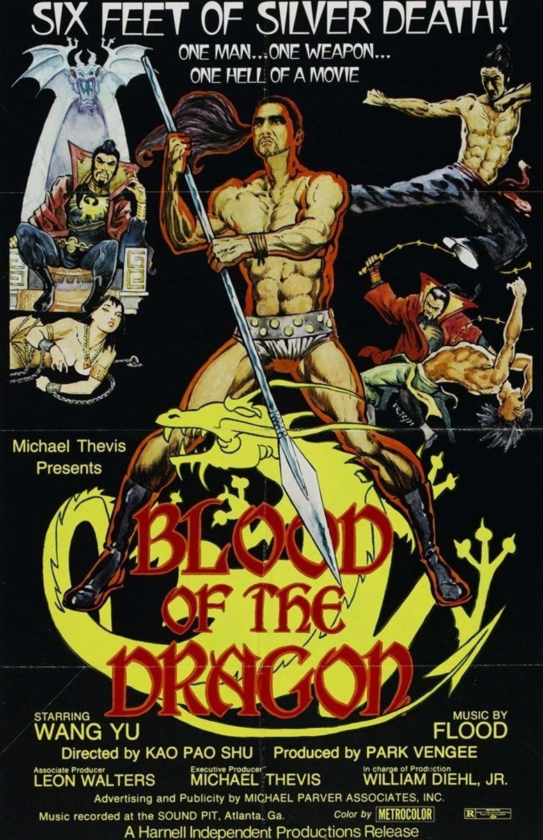 Blood of the Dragon (film) movie poster
