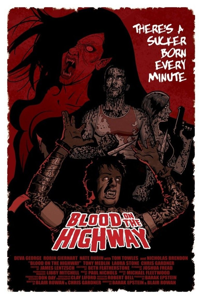 Blood on the Highway movie poster